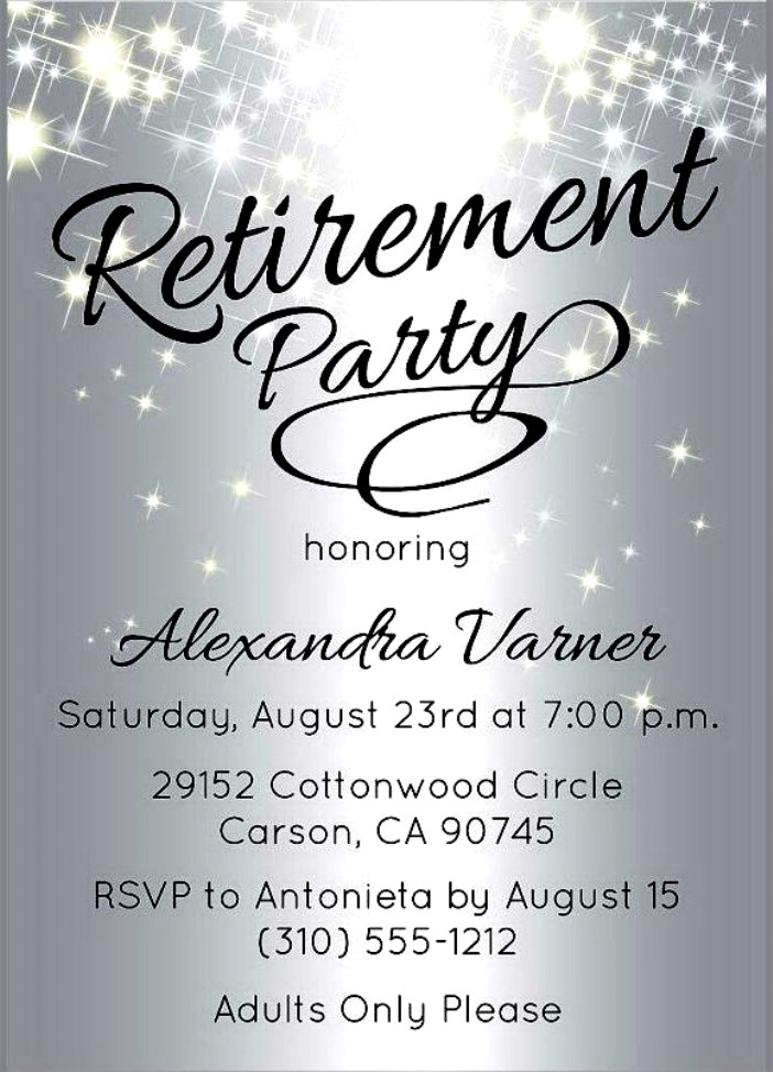 retirement party invitations templates free retirement invitations