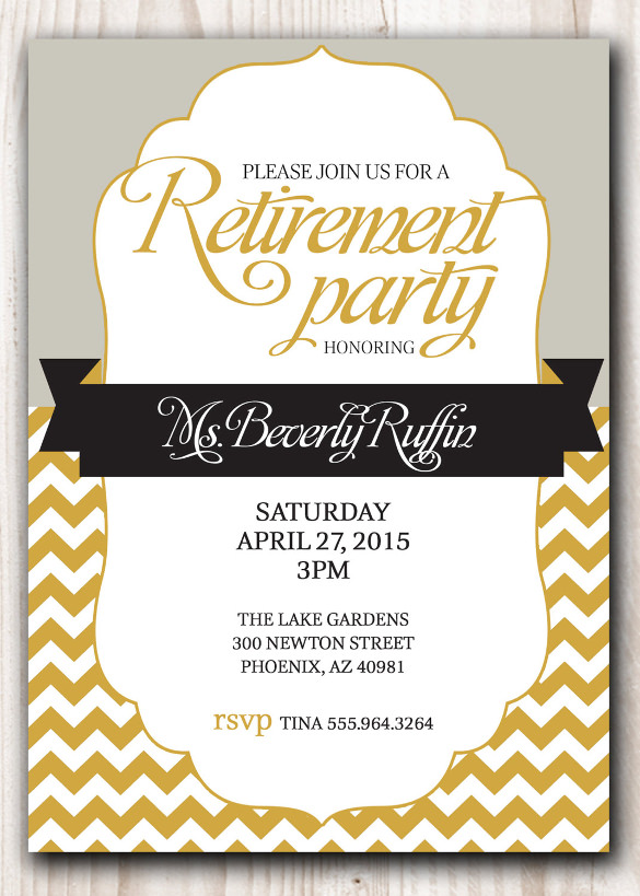 retirement party invitations templates free retirement luncheon
