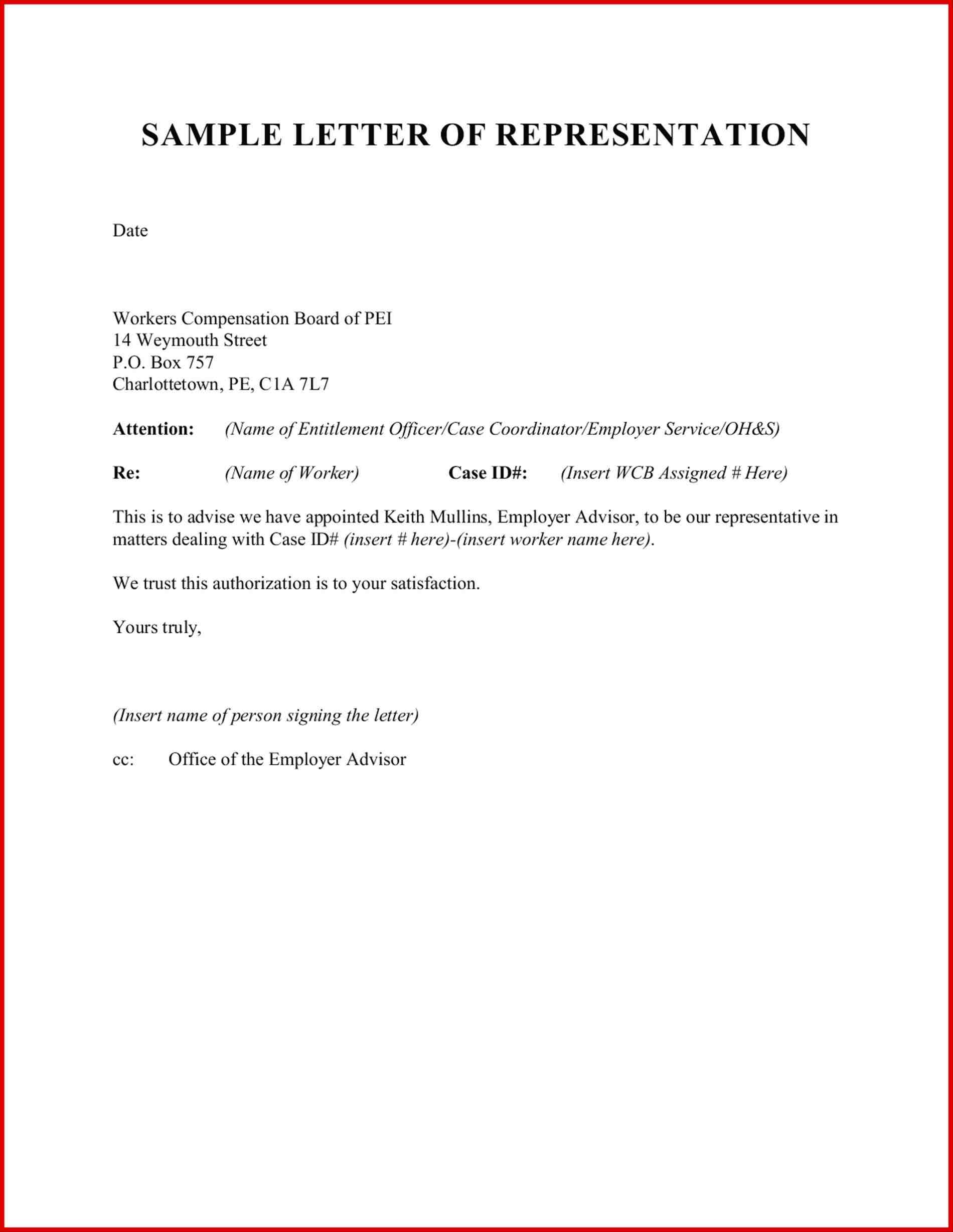 Ledger Paper Legal Legal Representation Letter Template Letter