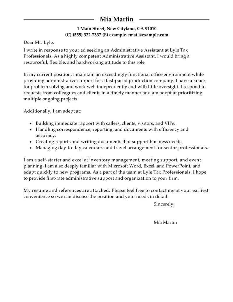 example of job cover letter for resumes Onwe.bioinnovate.co