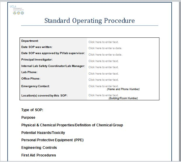 37 Best Standard Operating Procedure (SOP) Templates