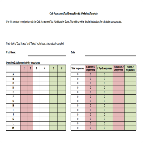 Survey Results Templates – 22+ Free Word, Excel, PDF Documents