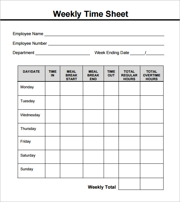 sample of a timesheet Dorit.mercatodos.co