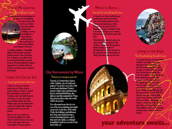 examples of travel brochures Onwe.bioinnovate.co