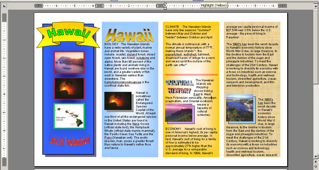 Examples Of Brochures For Traveling Travel Brochures Lessons Tes