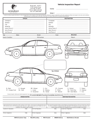 free vehicle inspection sheet template Dean.routechoice.co