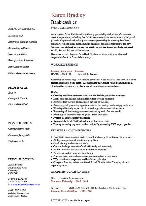 sample of cv format Kleo.beachfix.co