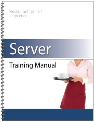 Restaurant Employee Training Manual sample page | west | Pinterest
