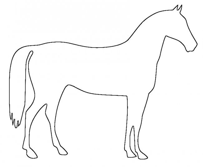 Wall Stencils Horse stencil Large Template For DIY Room Decor Wall