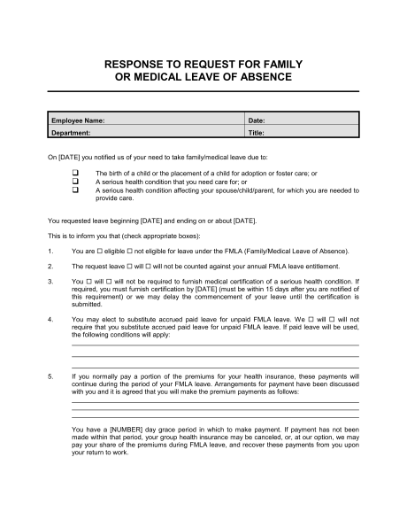 medical certification form for leave of absence Templates