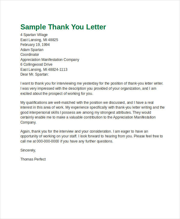 Letter Format Official Example Refrence 9 Examples Of Official