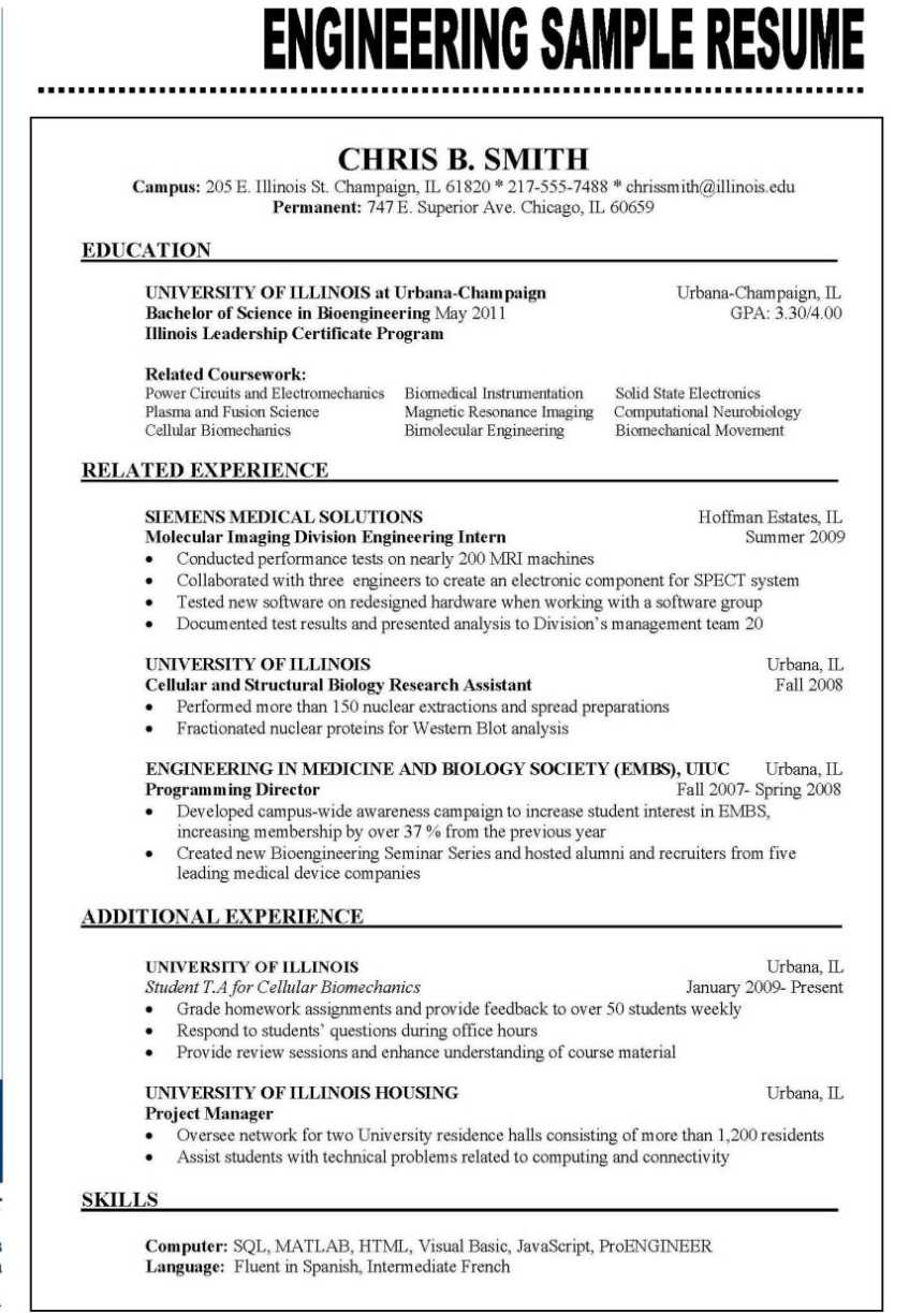 Flawless Resume Examples 2018 | Resume 2018