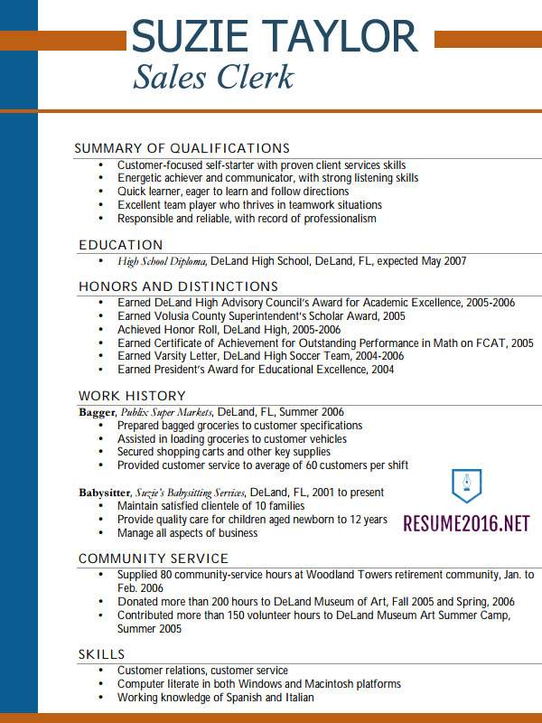 Best Resume Sample 7 Templates 2016 Which One Should You Choose