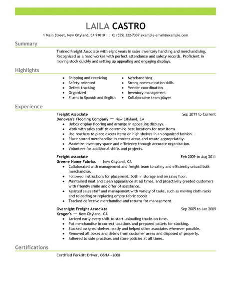 11 Amazing Sales Resume Examples | LiveCareer