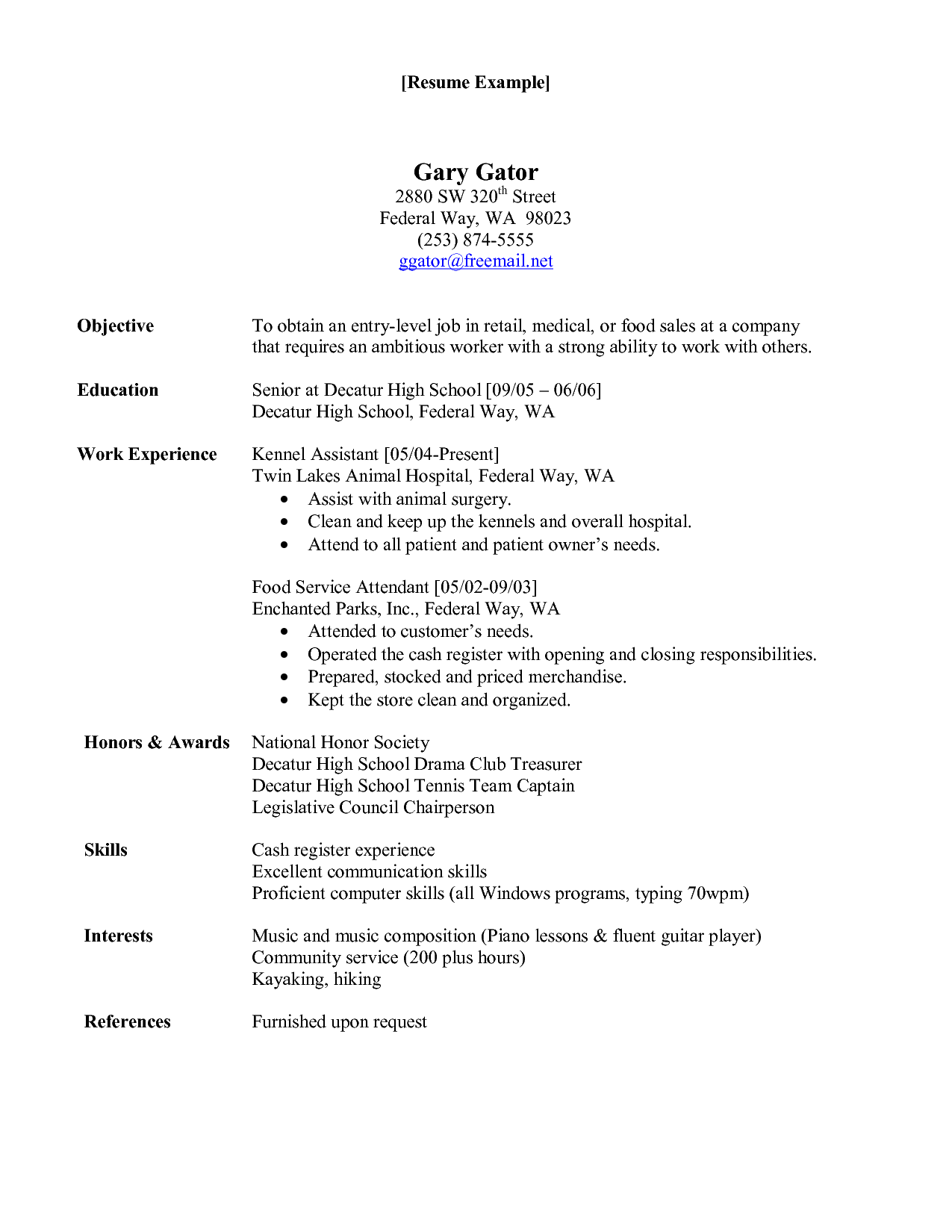 Brilliant Ideas Of Resume For Hospital Job On Animal Care Worker