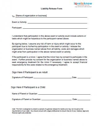 Hair Salon Chemical Service Release Form | products | Pinterest