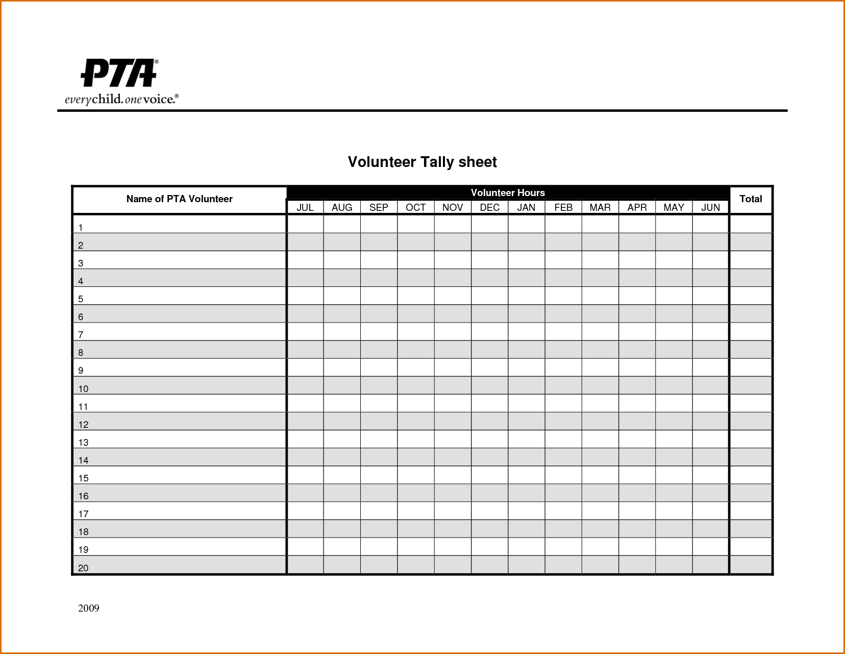 time sign up sheet template